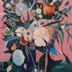 Disturbed - Acrylic on canvas - 120 cm x 80 cm - 2014