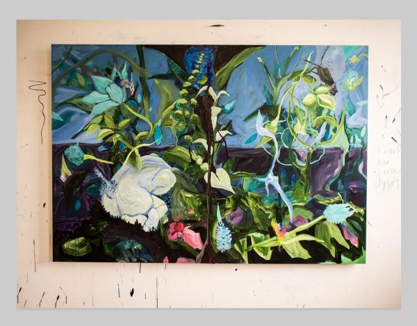 A Kind Of Worship - 170 cm x 140 cm - Acrylic on MDF - 2016