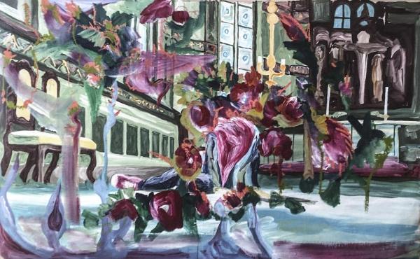 Victoria / Acrylic on canvas / 100 cm x 140 cm / 2017