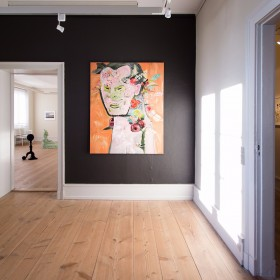 Installation view - My Roots In Growth  - Sophienholm - 2016