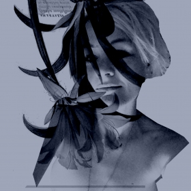 Postcards From My Secret Life No 4.  15 x 16.4 cm Metalic print 2014